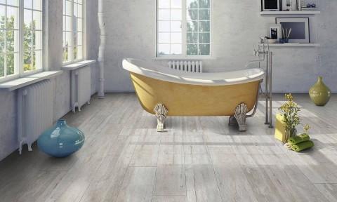 Sàn gỗ chống thấm nước đáp ứng nhu cầu lắp sàn gỗ ở cả những không gian ẩm ướt