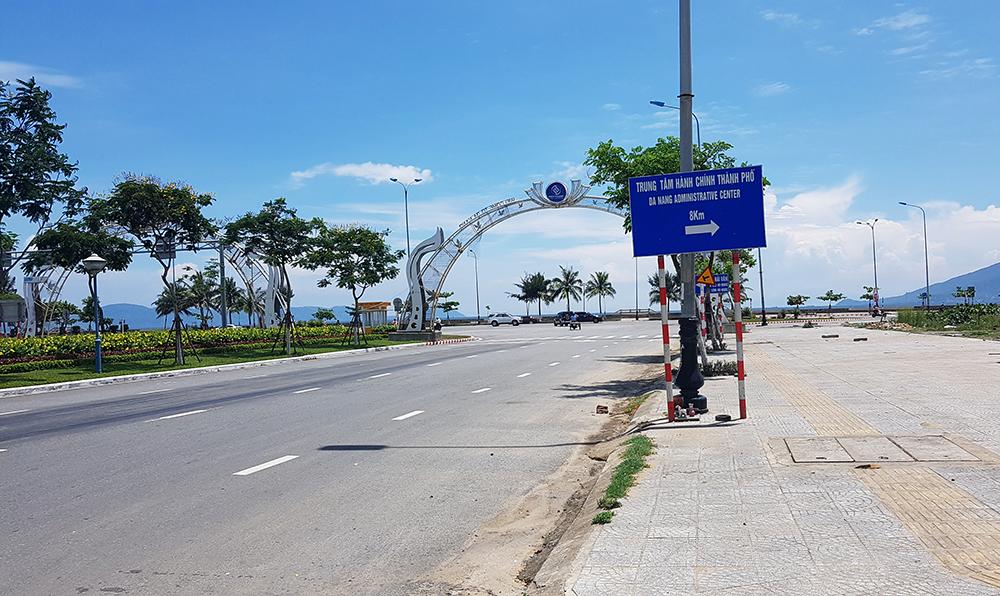 Khu đất cuối đường Nguyễn Sinh Sắc