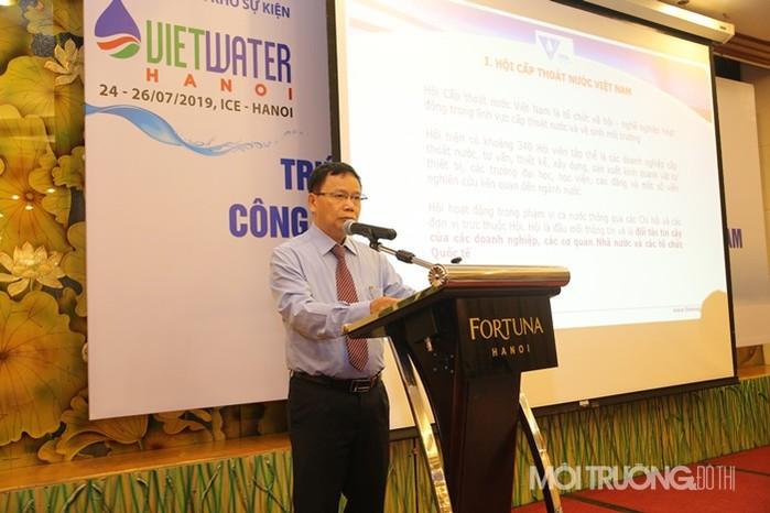 PGS.TS. Nguyễn Hồng Tiến – Phó Chủ tịch kiêm Tổng thư ký Hội cấp thoát nước Việt Nam