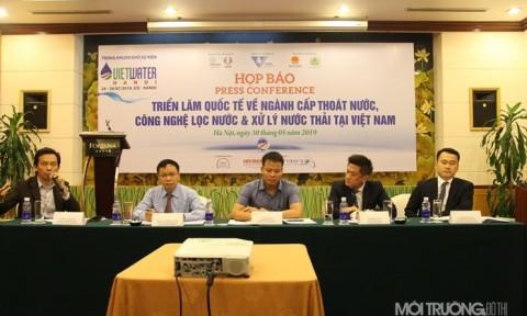 Họp báo triển lãm quốc tế hàng đầu Việt Nam về ngành nước 2019