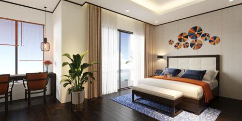 Các căn hộ tại dự án Best Western Premier Sapphire Ha Long có suất đầu tư ban đầu chỉ từ 450 triệu đồng