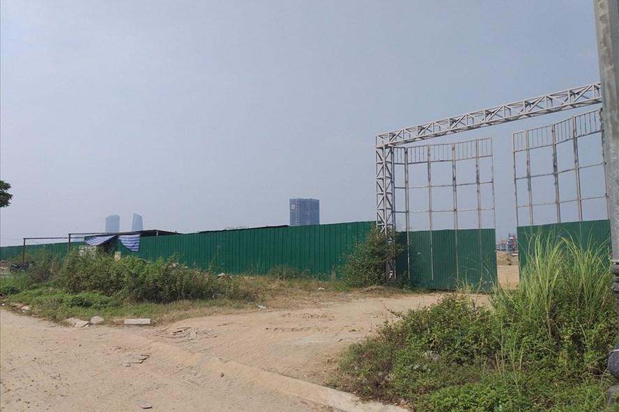 Dự án Marina Complex án ngữ tại mặt tiền sông Hàn đang bị tạm dừng để rà soát hồ sơ pháp lý và lấy ý kiến cộng đồng