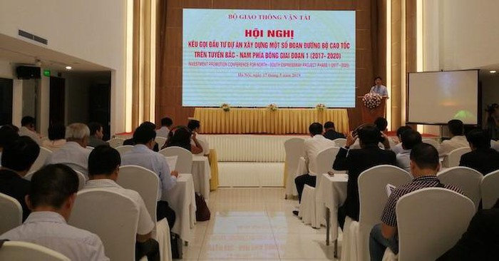 Hội nghị Kêu gọi đầu tư dự án xây dựng một số đoạn đường bộ cao tốc trên tuyến Bắc - Nam phía đông giai đoạn 1 (2017-2020)