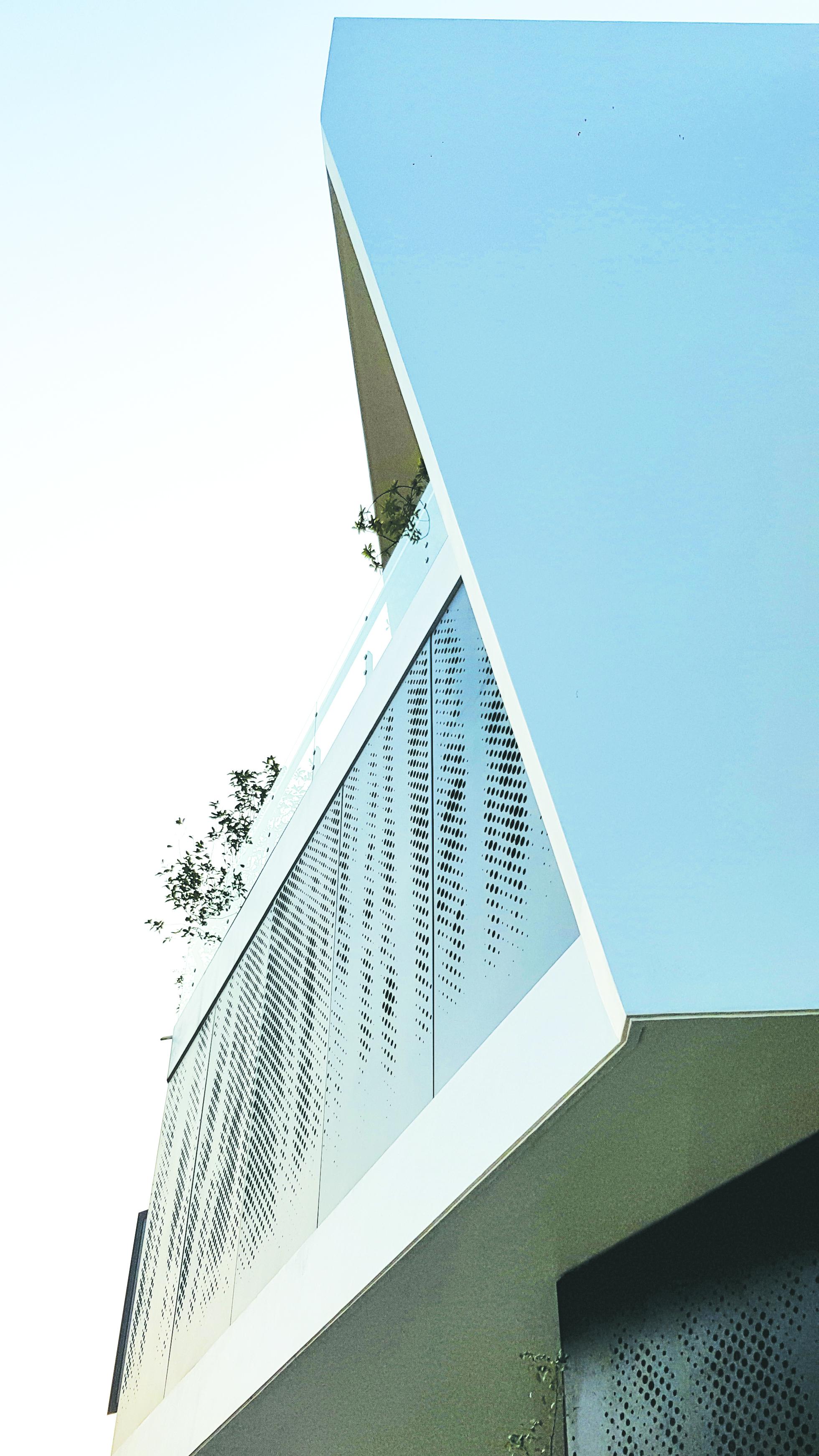 Góc chéo của căn nhà