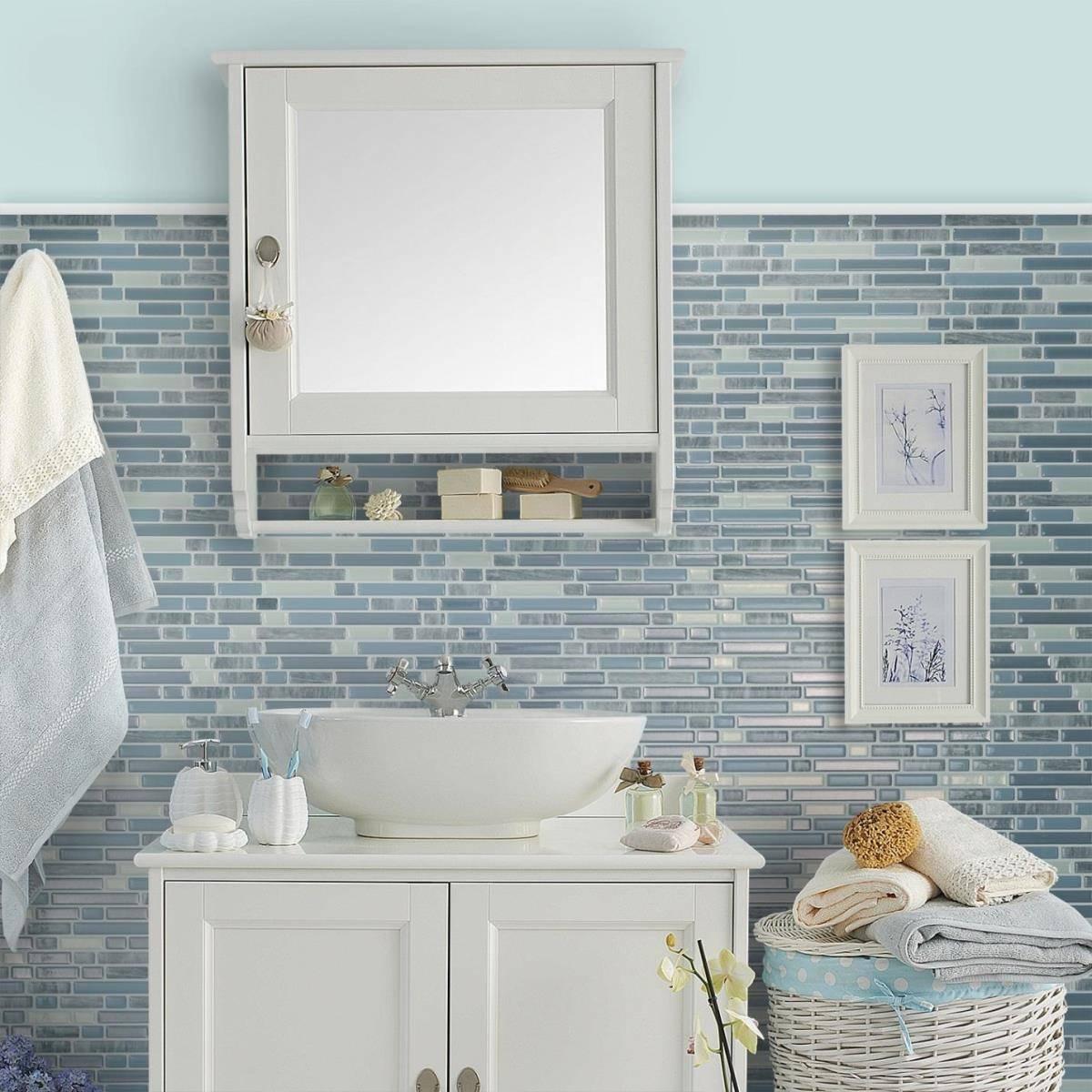 Tấm Vinyl có thể dùng cho cả nhà tắm, phòng bếp