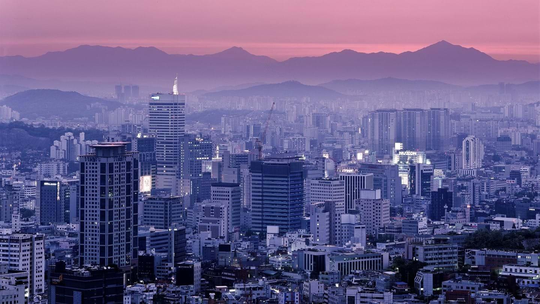 Những khu rừng bê tông đang mọc lên giữa siêu đô thị Seoul trong khi những không gian xanh ở đây chỉ chiếm một tỷ lệ rất nhỏ. Ảnh: KnowledgeHi