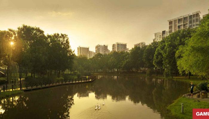 """Celadon City- """"thành phố thu nhỏ kiểu mẫu"""" phía Tây Sài Gòn"""