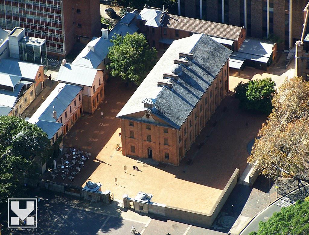 Bảo tàng Hyde Park Barracks ở Sydney (nguồn: VietnamHeritage.org)