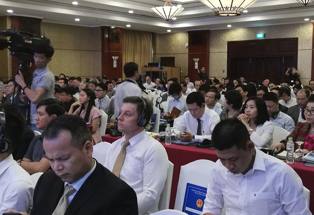 Đại biểu tham dự Hội nghị Xúc tiến đầu tư vào TP.HCM năm 2019. Ảnh: PK
