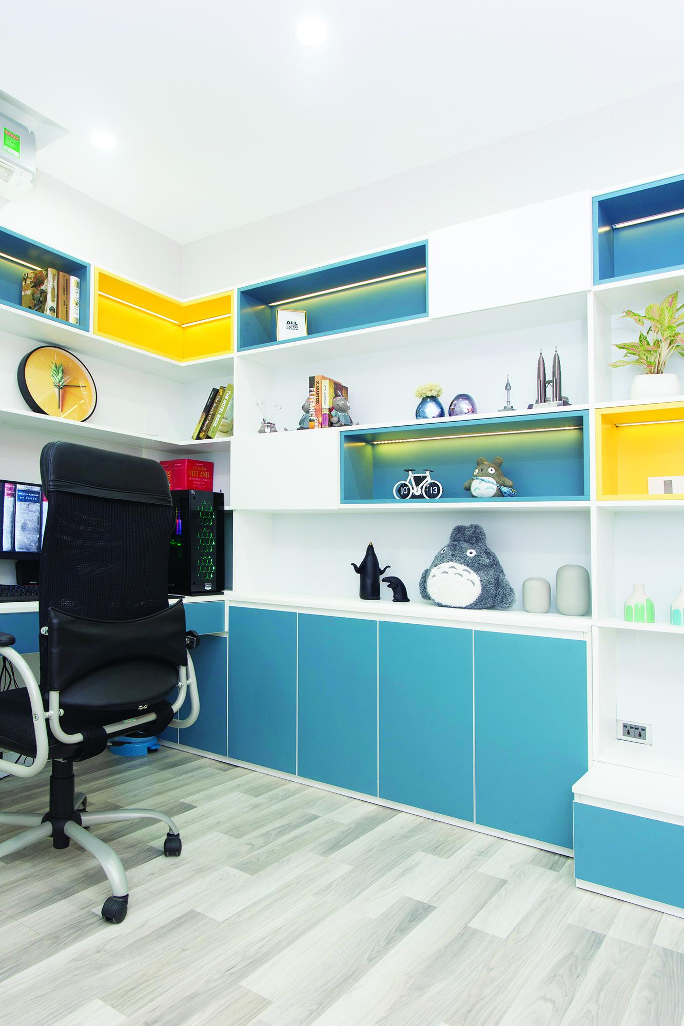 Các mẫu trang trí phù hợp với nhiều không gian trong căn hộ