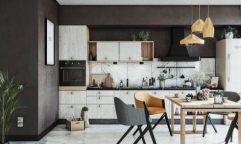 Những tủ bếp được thiết kế độc đáo như tủ để quần áo