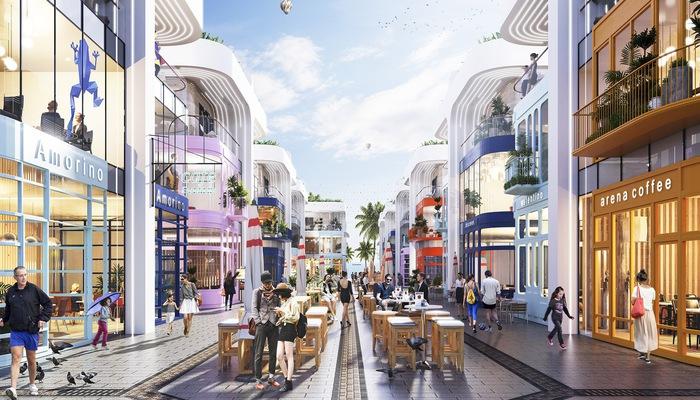 Shop villas The Arena có mức cam kết lợi nhuận lên đến 10%/năm