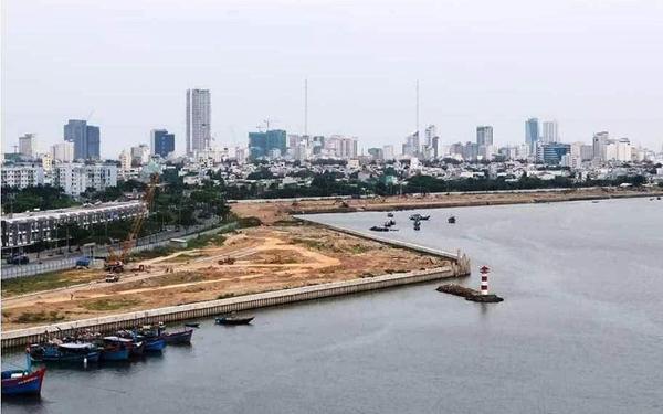 Dự án Bất động sản và Bến du thuyền Đà Nẵng nằm tại phường Nại Hiên Đông, quận Sơn Trà, thành phố Đà Nẵng. (Ảnh: TT/Giáo Dục VN)