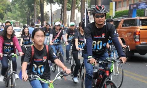 Tổ chức không gian để phát triển xe đạp công cộng