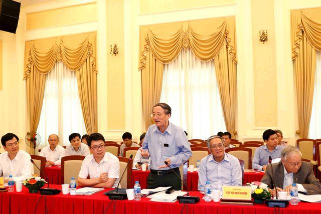 Các chuyên gia tham dự Hội thảo đóng góp ý kiến giúp Bộ Xây dựng triển khai Đề án 198