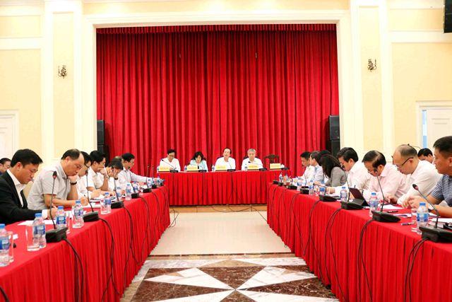 Bộ trưởng Phạm Hồng Hà chủ trì Hội nghị