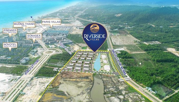 Vị trí đắc địa của dự án Boutique Hotel hạng sang Riverside Villas