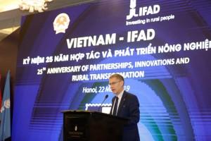 IFAD đã đầu tư trên 370 triệu USD cho khu vực nông thôn Việt Nam