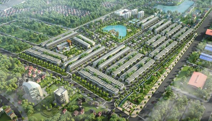 Phối cảnh tổng thể khu đô thị KOSY Bắc Giang