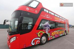 Sau Hà Nội, xe buýt mui trần chuẩn bị hoạt động ở Sài Gòn