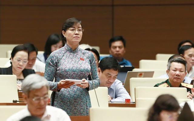 Đại biểu Nguyễn Thị Quyết Tâm:  Nhiều ý kiến có lý có tình của người dân chưa được quan tâm