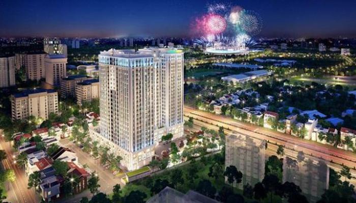 Dự án chung cư cao cấp Florence Mỹ Đình với diện tích 9.976 m2, 3 tầng hầm, 25 tầng nổi