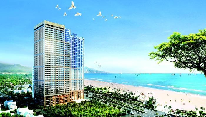 Premier Sky Residences có quy mô 1 tầng hầm và 40 tầng nổi, chiều cao công trình là 128.1m