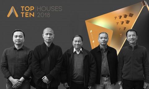 TOP 10 HOUSES 2018: Giải thưởng tìm kiếm xu hướng kiến trúc nhà ở thường niên