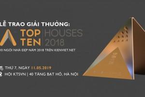 Giải thưởng Top 10 Houses: Vinh danh những KTS tài năng ở lĩnh vực nhà ở