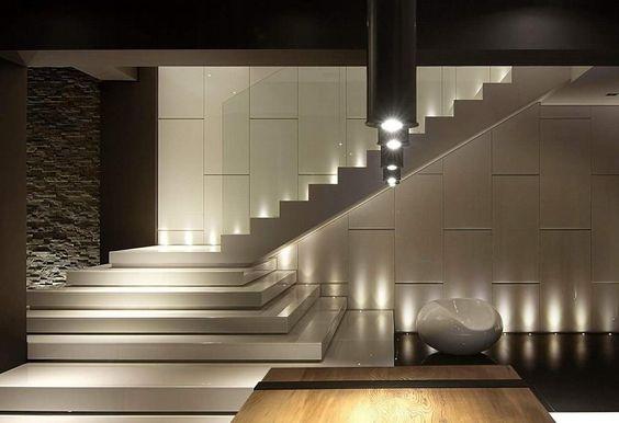 Cầu thang từ phiến đá granite trắng Việt Nam