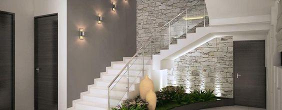 Ốp cầu thang bằng đá hoa cương trắng