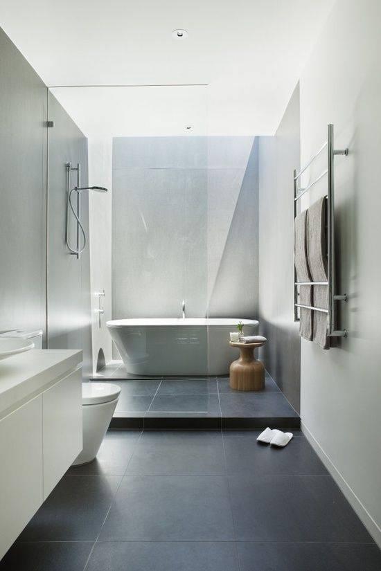 Không gian phòng tắm hiện đại, sang trọng