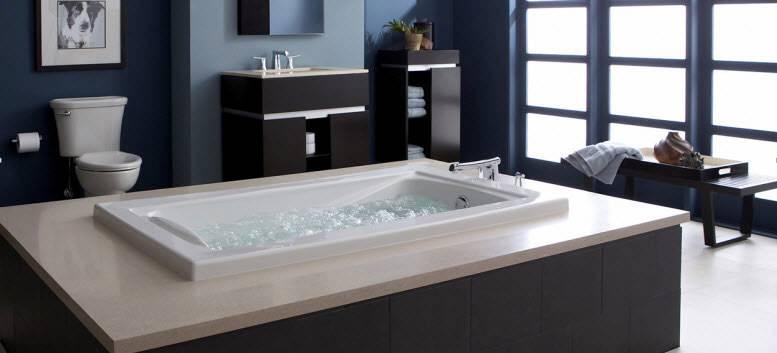 Nhựa composite được ứng dụng để làm bồn tắm