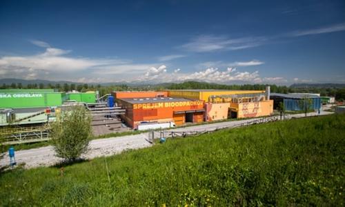 Trung tâm Quản lý Chất thải Khu vực (RCERO), nhà máy xử lý rác sinh học hiện đại nhất châu Âu đặt ở ngoại ô Ljubljana. Ảnh: Guardian.