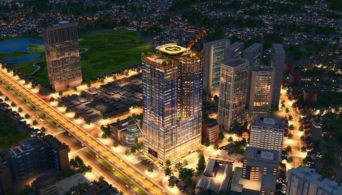 """Sunshine Center được mệnh danh là """"Tòa nhà của ánh sáng và công nghệ hiện đại nhất phía Tây Hà Nội"""""""