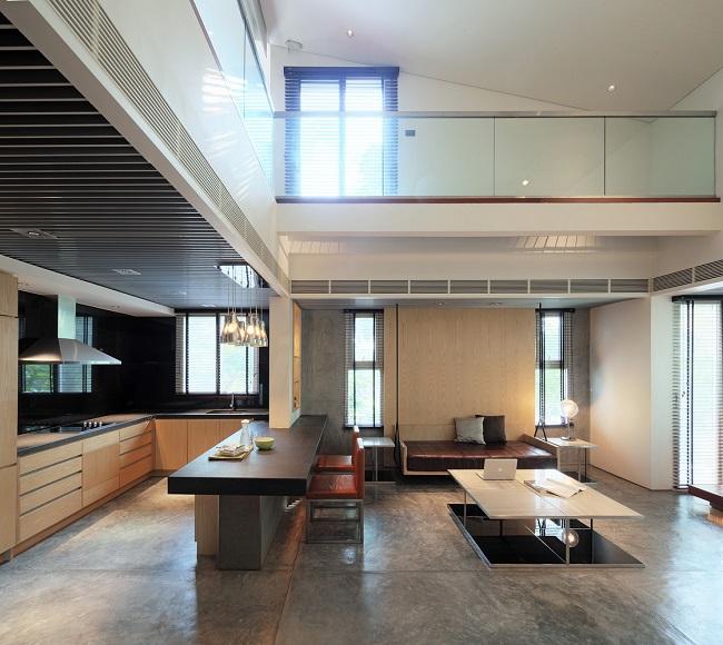 Đối với nơi ở của hai người con, kiến trúc sư thiết kế dựa vào tính cách riêng của mỗi người.