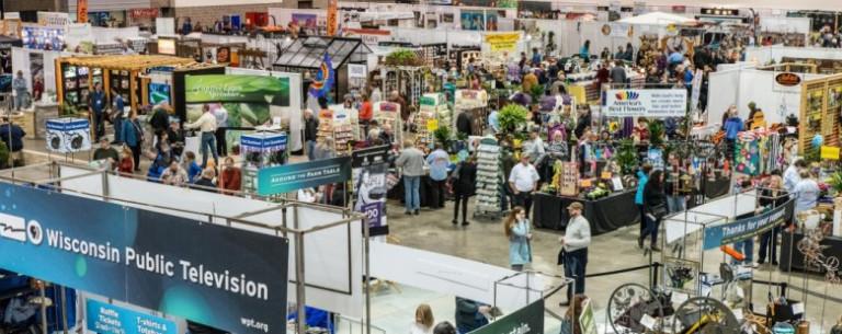 Không gian hội chợ cây xanh – cảnh quan tại MADISON (Mỹ) vào tháng 02/2019 – Nguồn: wptschedule