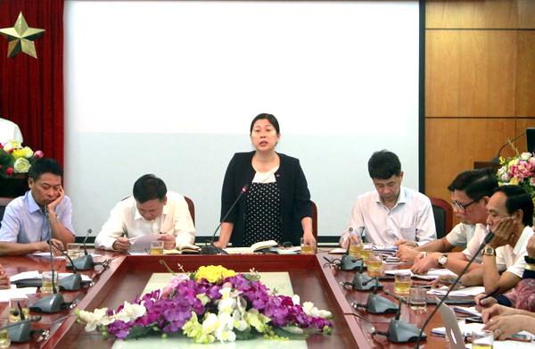 Thứ trưởng Nguyễn Thị Phương Hoa phát biểu chỉ đạo Hội nghị