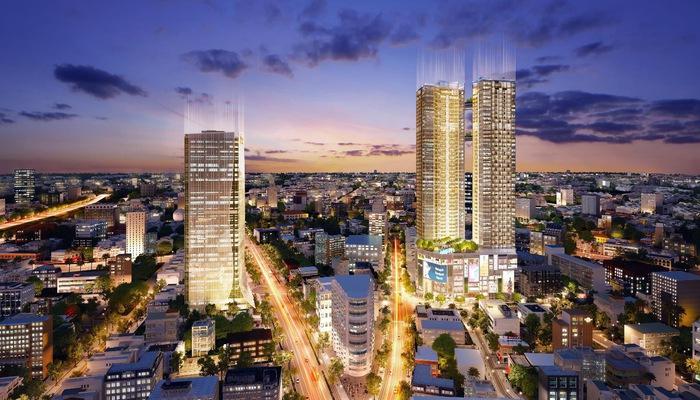 Hệ sinh thái Alpha City gồm tòa tháp đôi hạng sang Alpha Hill, cao ốc văn phòng cao cấp Alpha Town và Alpha Mall - trung tâm thương mại thời thượng.