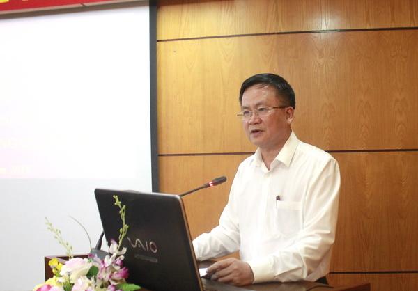 Tổng cục trưởng Lê Thanh Khuyến phát biểu tại Hội nghị