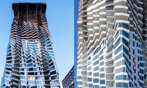 Tháp Mira xoắn ốc dị dạng ở San Francisco