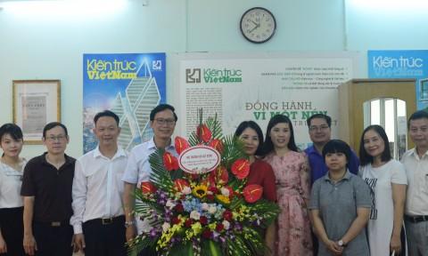 Tạp chí Kiến trúc Việt Nam kỷ niệm 94 năm ngày Báo chí cách mạng Việt Nam