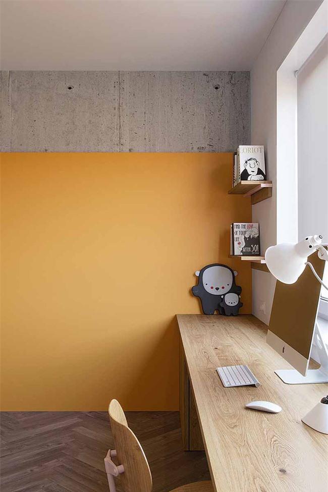 Không gian làm việc dễ dàng mang đến bạn đầy cảm hứng sáng tạo nhờ vẻ sinh động của nó