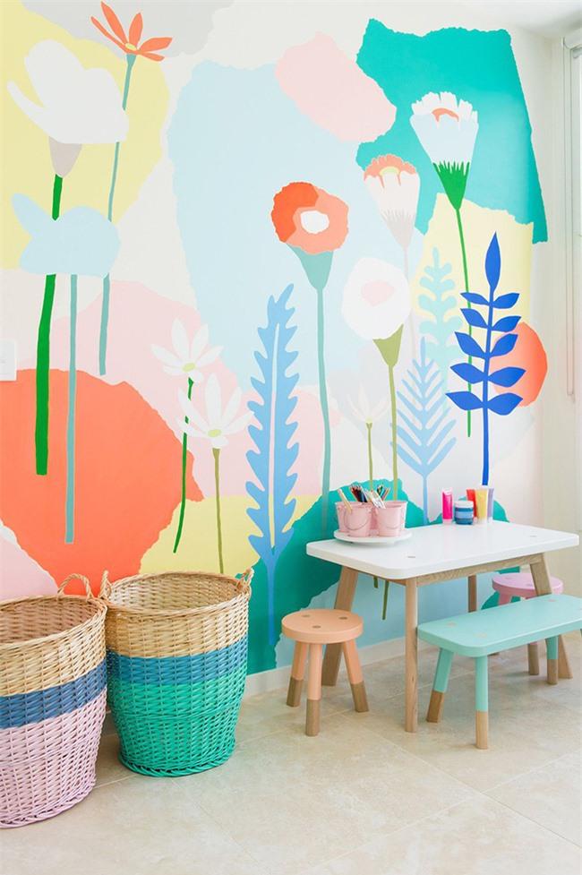 Cách trang trí bằng màu sắc này đặc biệt thích hợp để dùng cho phòng của bé