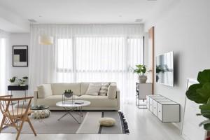ội thất trắng, đen trong căn hộ phong cách Scandinavian