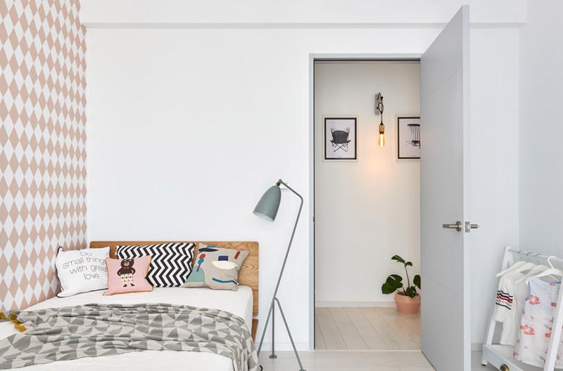 Phòng ngủ trẻ em mang phong cách Scandinavian dễ thương và trẻ trung