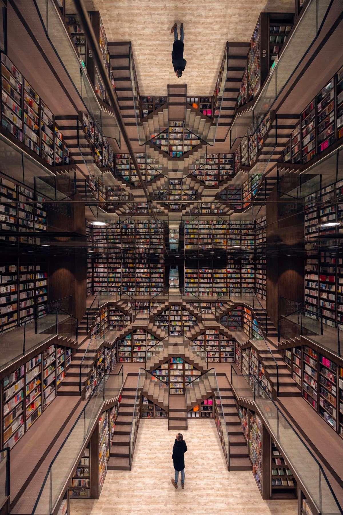 Hiệu sách giống như mê cung