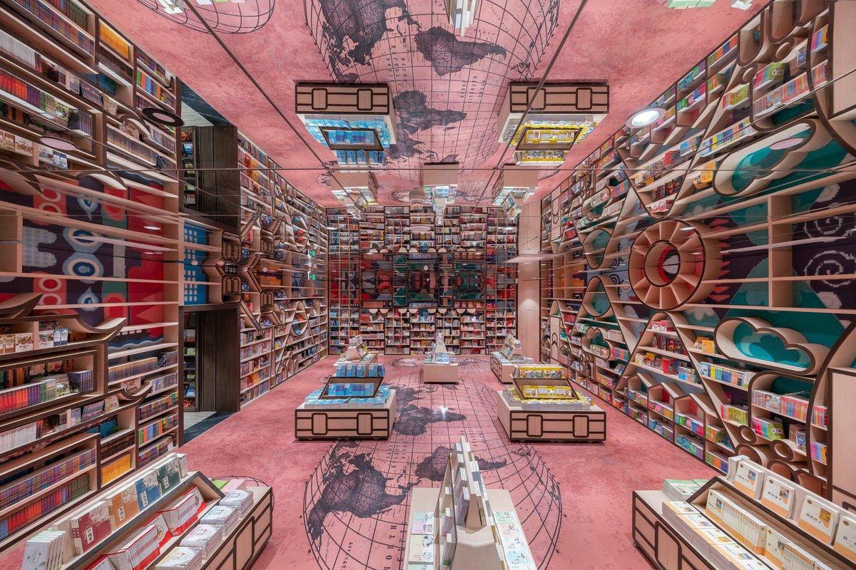 Phòng đọc dành cho trẻ em đầy sắc màu
