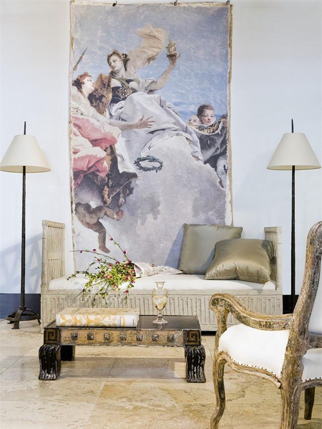 Vậy nên, đừng bao giờ phải ngần ngại lựa chọn một bức tranh treo tường kích thước lớn cho ngôi nhà nhé