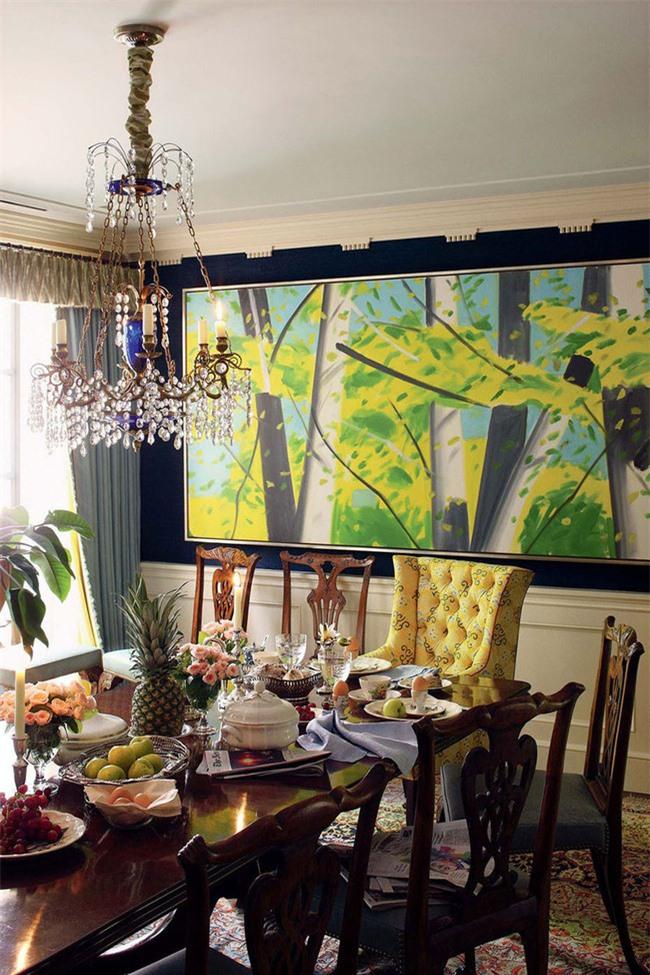 Tuy nhiên, nếu chưa một lần thử qua bạn sẽ chẳng bao giờ nhận ra được hiệu quả thẩm mỹ mà một bức tranh cỡ lớn có thể mang đến không gian sống gia đình
